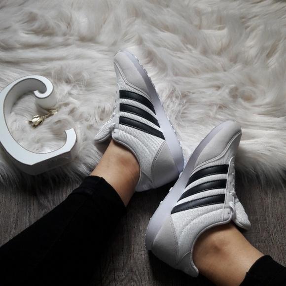ADIDAS V RACER NYLON Sneaker Schuhe Ortholite Sport Sneaker